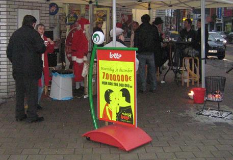 Heirnisplein, Gent, 16h, 20 dec. 2008