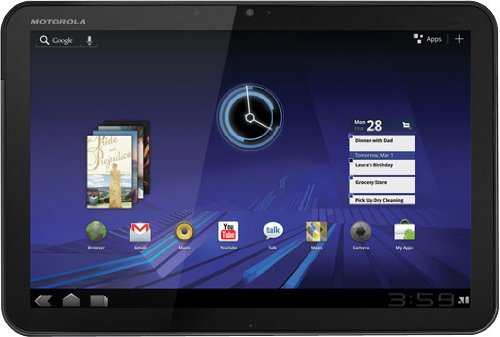 4. MOTOROLA ZOOM Android Tablet (10.1 Inch 32GB, WiFi)