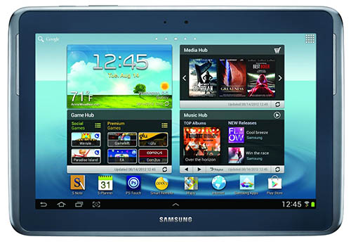 3. Samsung Galaxy Note 10.1(16GB, Deep Grey)