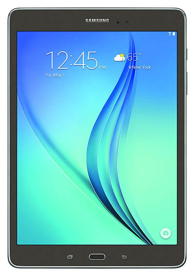 2. Samsung Galaxy Tab A 9.7 Inch WiFi Tablet (Titanium With S-Pen)
