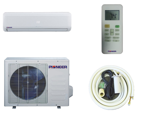 1. Pioneer Ductless Air Conditioner