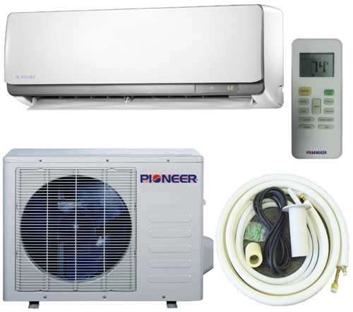 8. Pioneer 24,000 BTU (2 Ton) Ultra High Efficiency