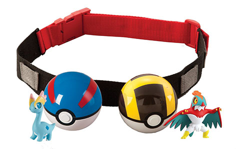 1. Pokémon Clip 'N' Carry Poké Ball Belt