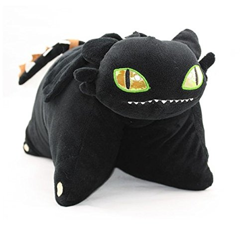 10. Night Fury Plush Cushion Pillow