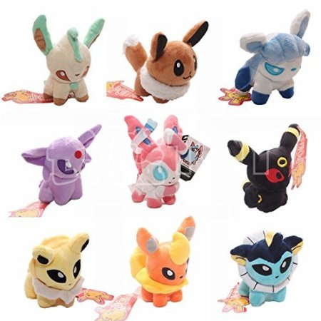 7. Pokemon Stuffed Plush Toys