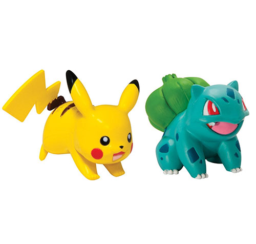 7. Pikachu And Bulbasaur