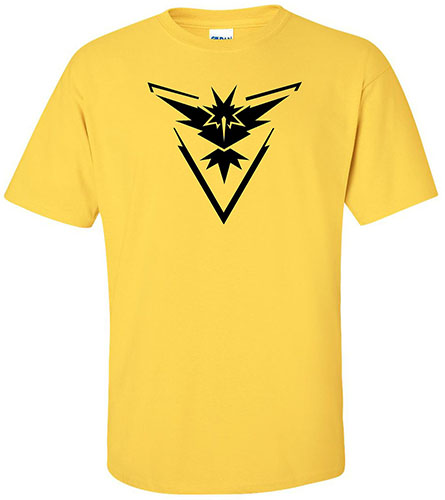 7. Team Instinct Yellow Shirt