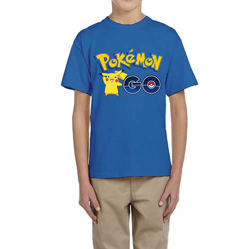 2. YONLY Kids Pokemon Go T-shirt