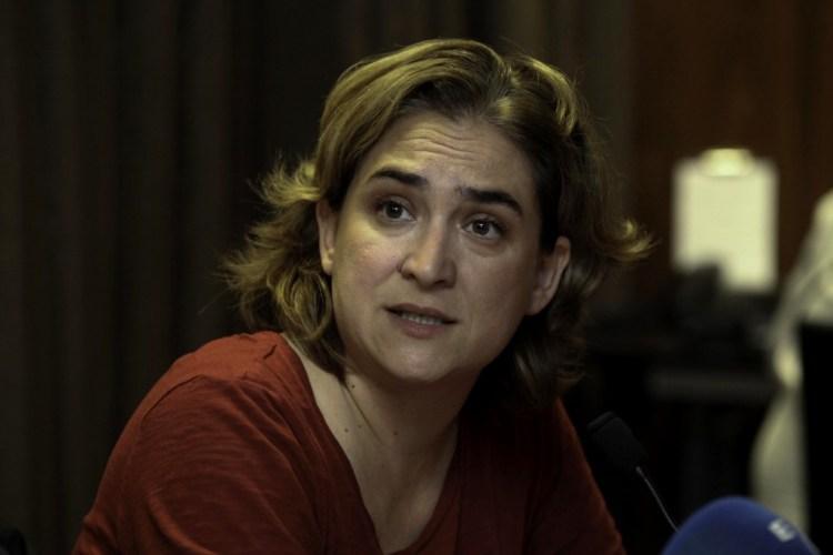 File photo of Ada Colau (Credit: Fernanda LeMarie - Cancillería del Ecuador)