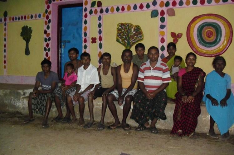 A group of Christians at Sirisguda. Photo: Nandini Sundar