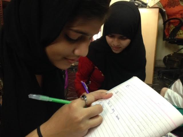 English classes in progress at Rehnuma. Credit: Taran N Khan