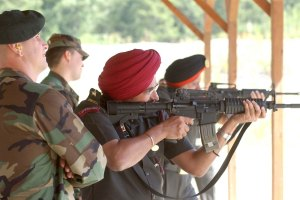 Para Commandos of the Indian Army during training. Credit: Wikimedia Commons