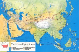 Silk and Spice Routes. Credit: UNESCO