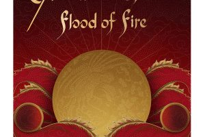 The cover of Amitav Ghosh's book 'Flood of Fire', the concluding title in the Ibis trilogy.