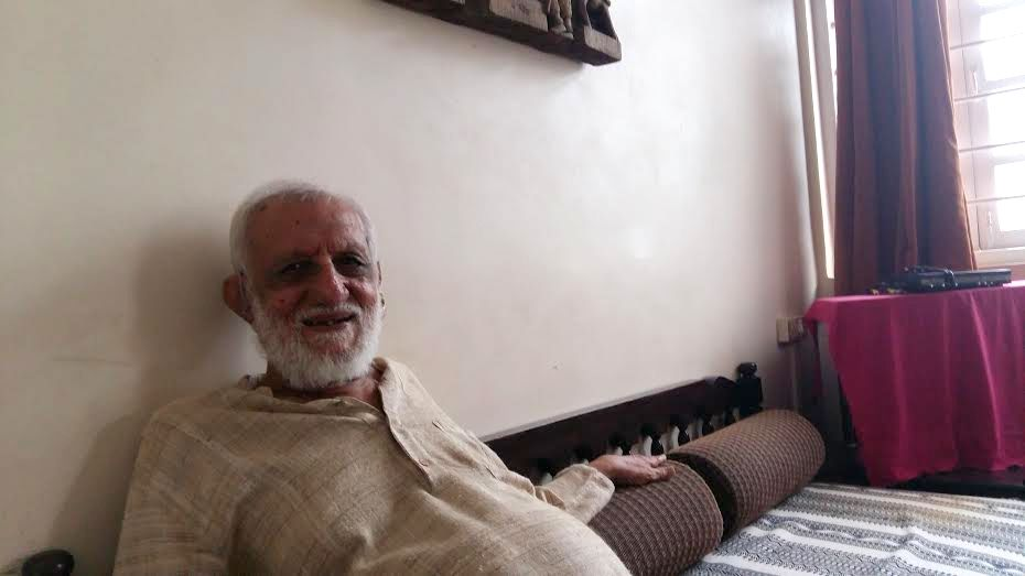 G.G. Mehta, doctor and socialist, in Mumbai on Thursday.Photo: Sidharth Bhatia