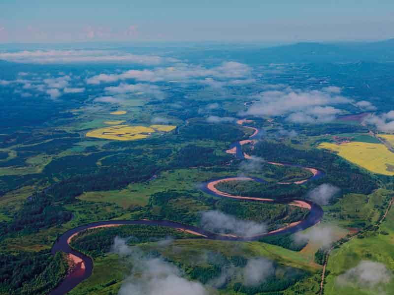 Hanma biosphere reserve. Credit: UNESCO