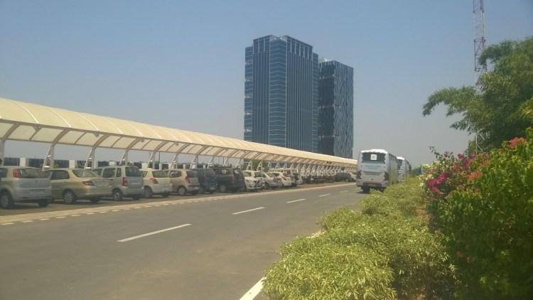 Twin towers at GIFT City, Gujarat. Photo: Chirayu Bhatt