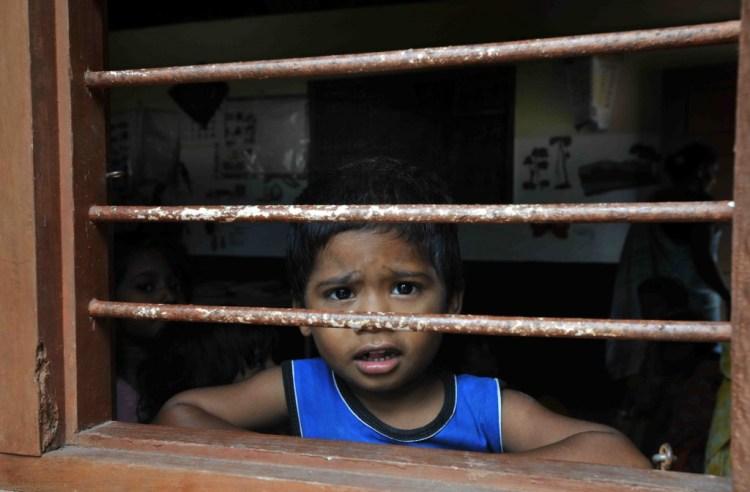 Young boy at school in Pillicula Village, Karnataka. Credit: Asian Development Bank