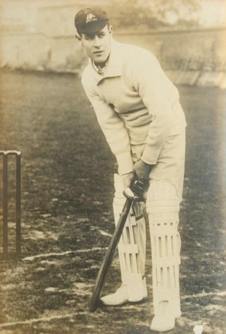 Victor Trumper in the 1890s. Credit: JJ Harrison.