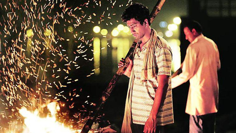 Vicky Kaushal, as Deepak, in a scene from Masaan