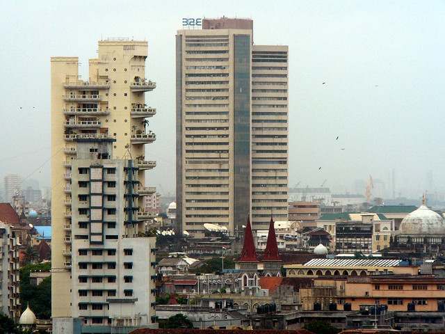The Bombay Stock Exchange Building (Photo by Appiah)