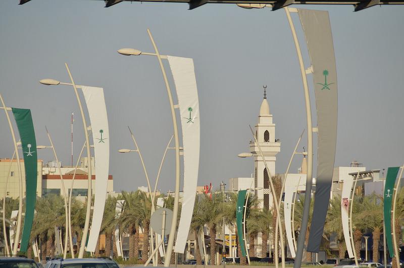 Saudi Arabia's capital Riyadh (photo Stephen Downes)