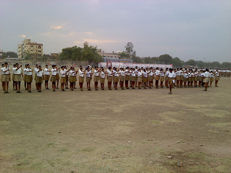 A shakha of the RSS (Photo: Gamesh Dhamodkar)