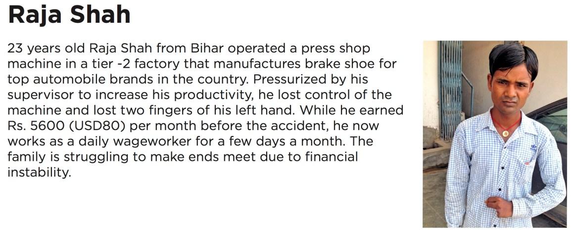 Raja Shah story