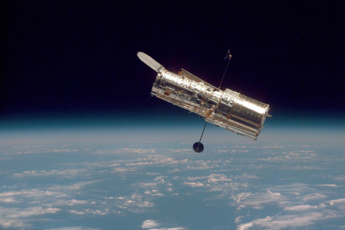 Hubble Space Telescope. Source: NASA