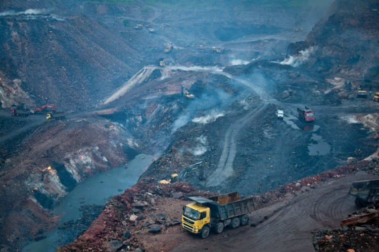 The forest rights' of tribal communities are being withdrawn to make way for coal mines. Credit: IAC/Flickr, CC BY 2.0
