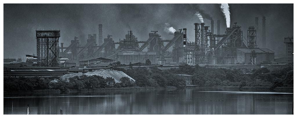 Bhilai Steel Plant. Credit: Meghdut Gorai/Flickr CC BY-NC-ND 2.0