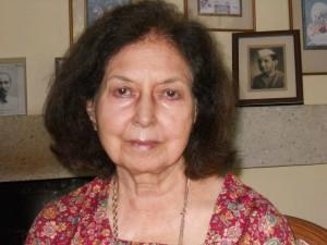 Author Nayantara Sahgal who has returned her award to the Sahitya Akademi. (Photo: Ranjona Banerji.)
