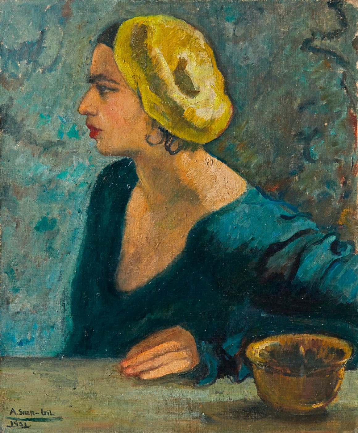A work by Amrita Sher-Gil