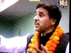BJP leader Umesh Malik. Credit: YouTube