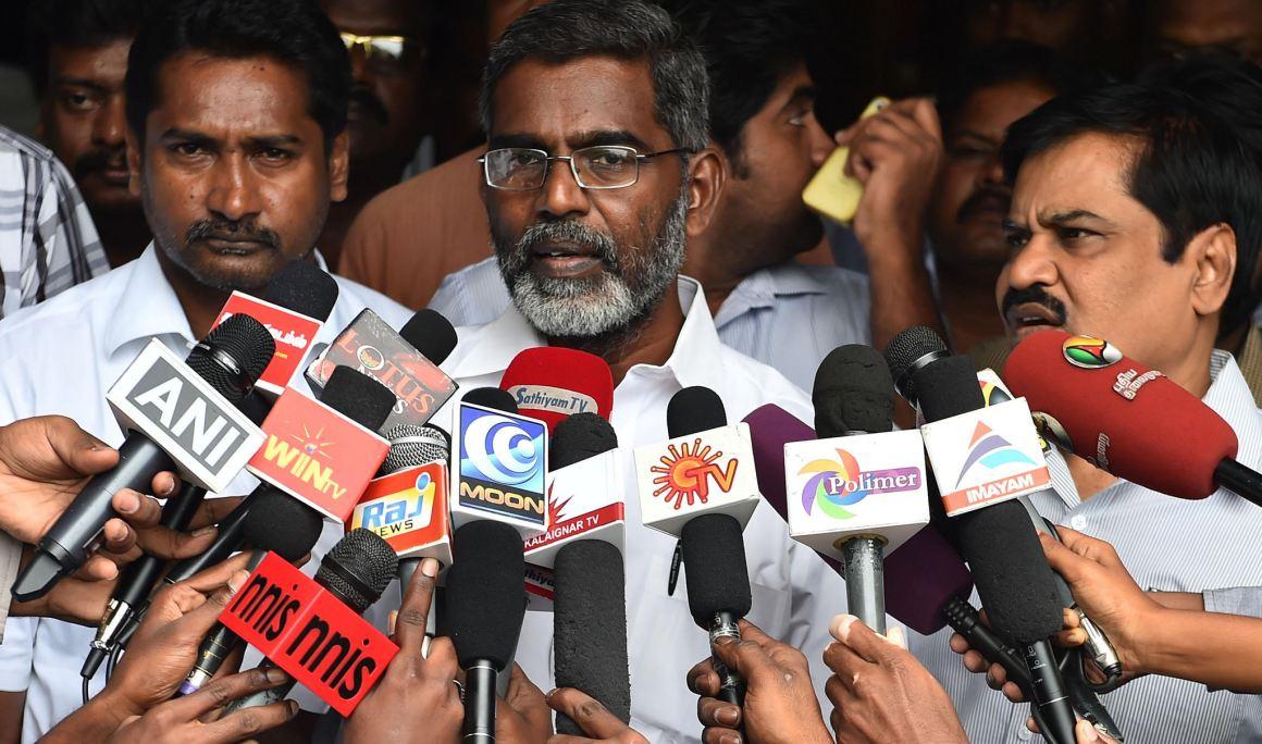 Anti-nuclear activist SP Udayakumar. Credit: IANS