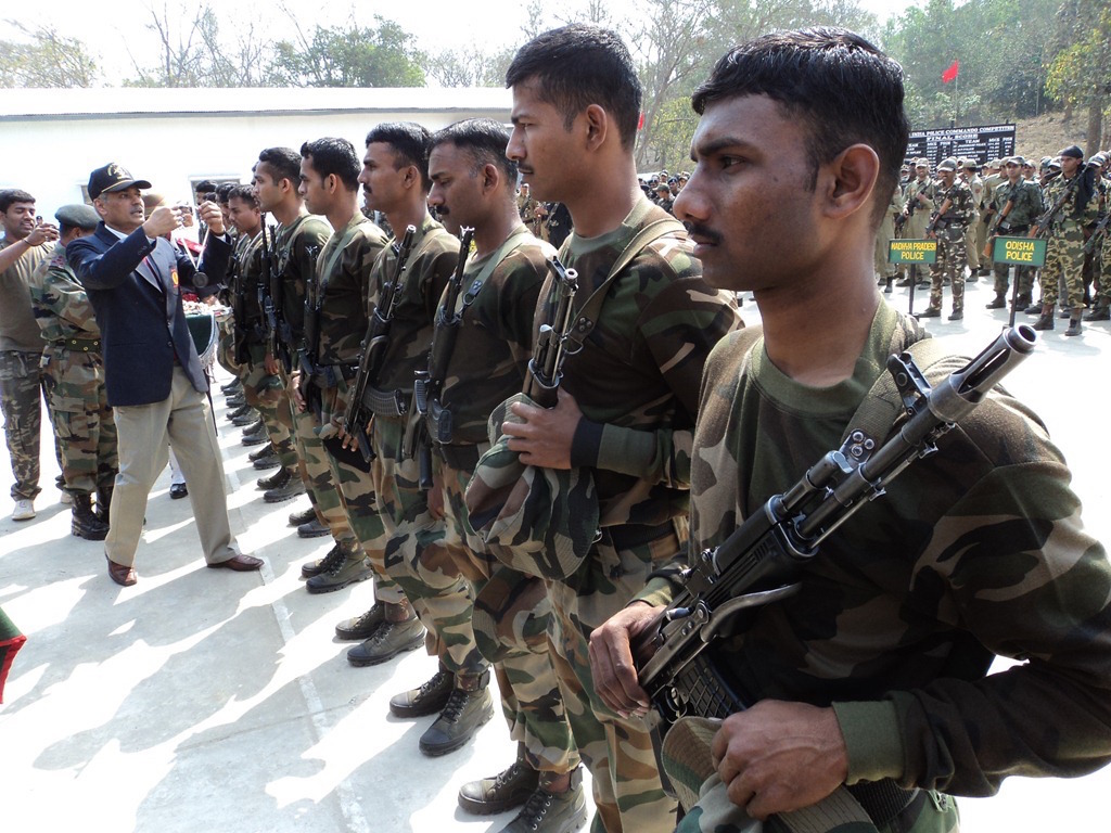 File photo of Assam Rifles soldiers in Assam. Credit: kararnivang.com