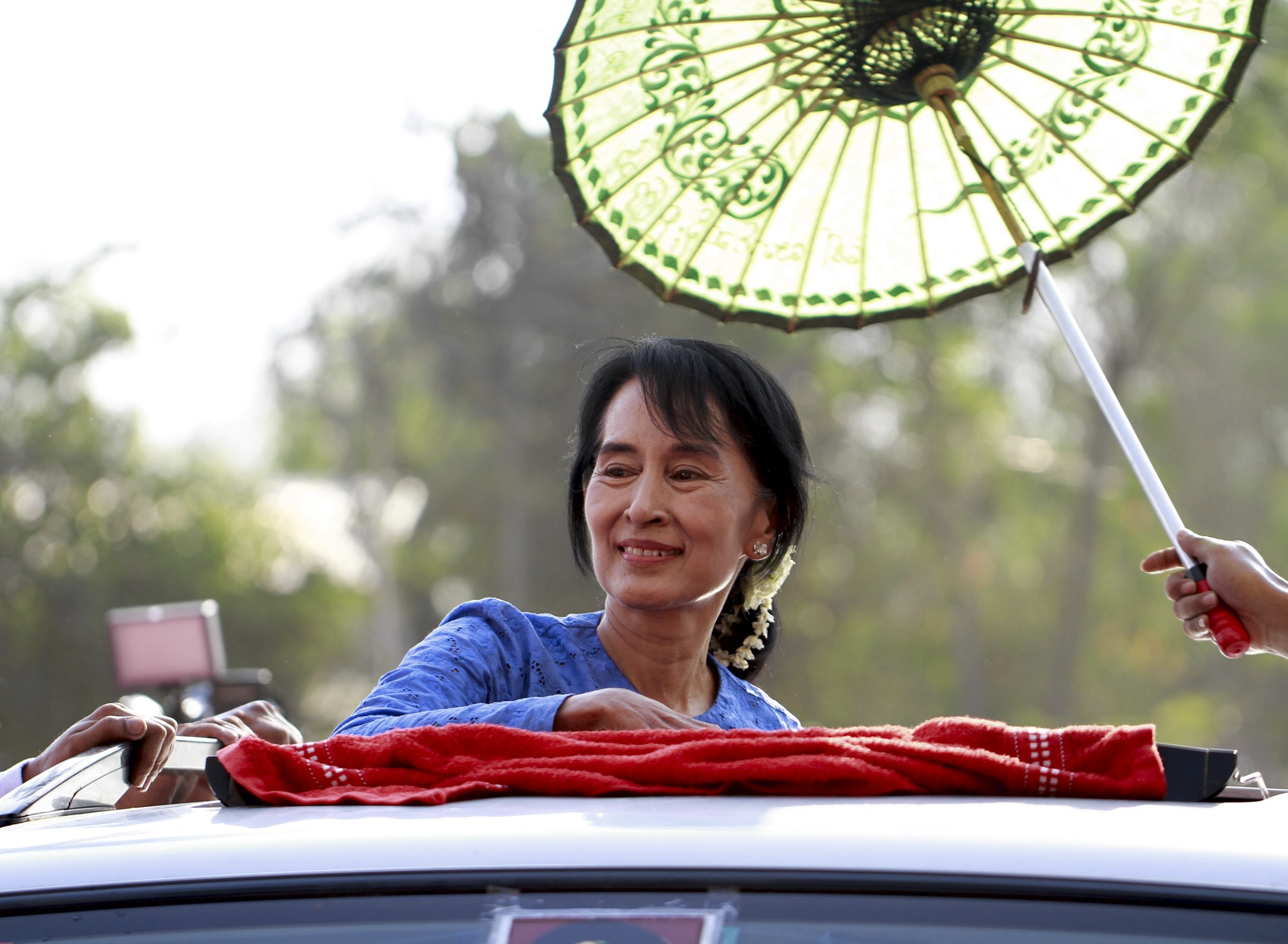 essay on aung san suu kyi