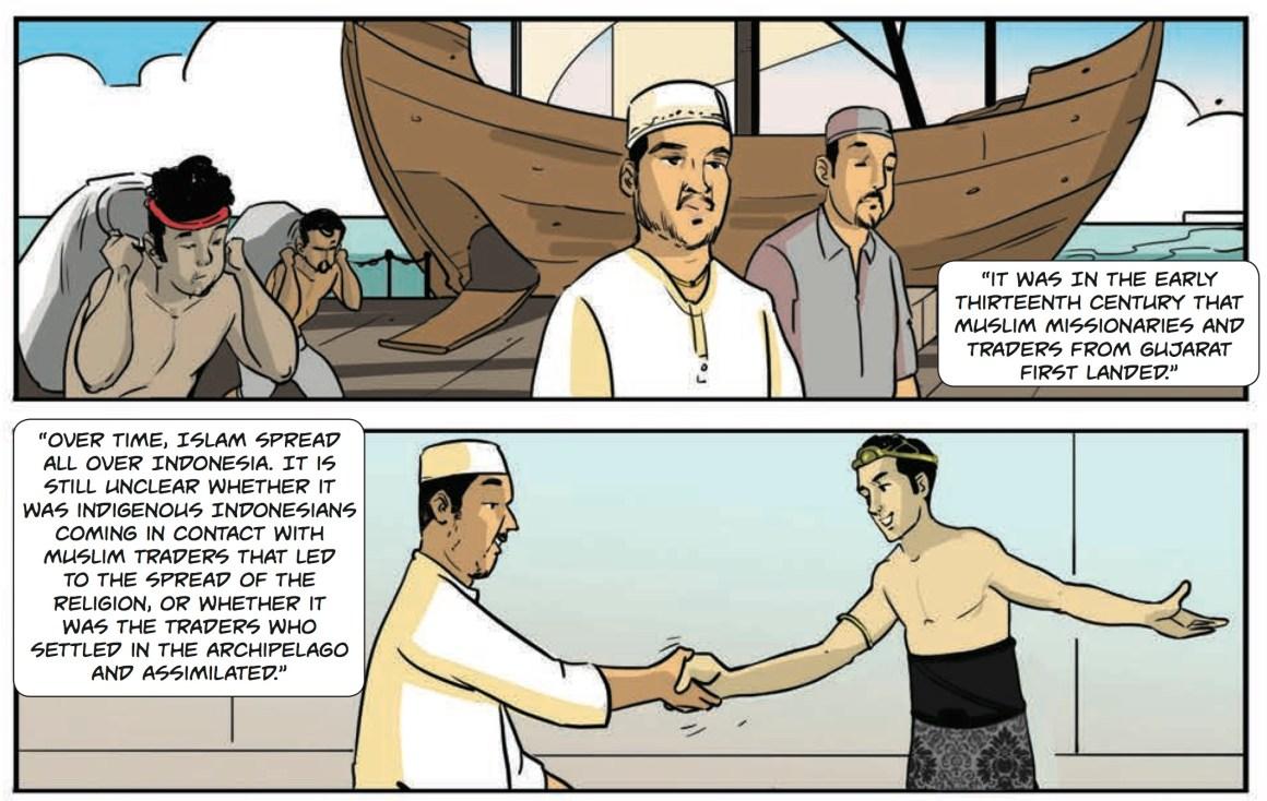 comic muslims