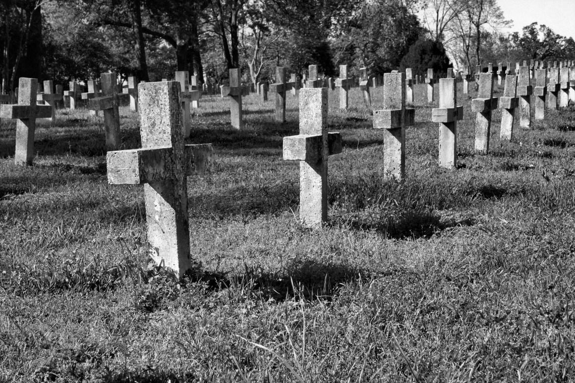 Huntsville, Texas prison cemetery. Credit: kookykrys/Flickr CC 2.0
