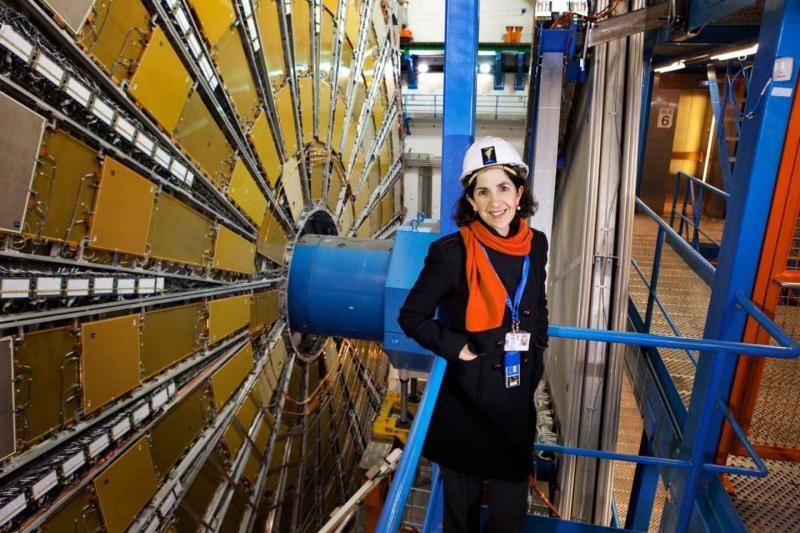 Fabiola Gianotti. Image: Claudia Marcelloni/CERN