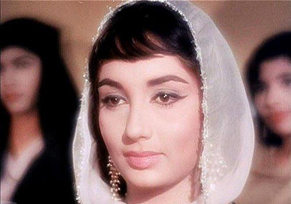 Actress Sadhana, who passed away on Friday. Source: YouTube screengrab
