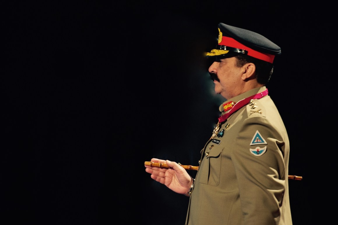 Gen. Raheel Sharif, Pakistan Chief of Army Staff. Credit: Adapted from a US Army photo