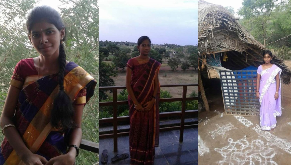 Pictures of Monisha, Priyanka and Saranya who committed suicide by jumping into a well last week
