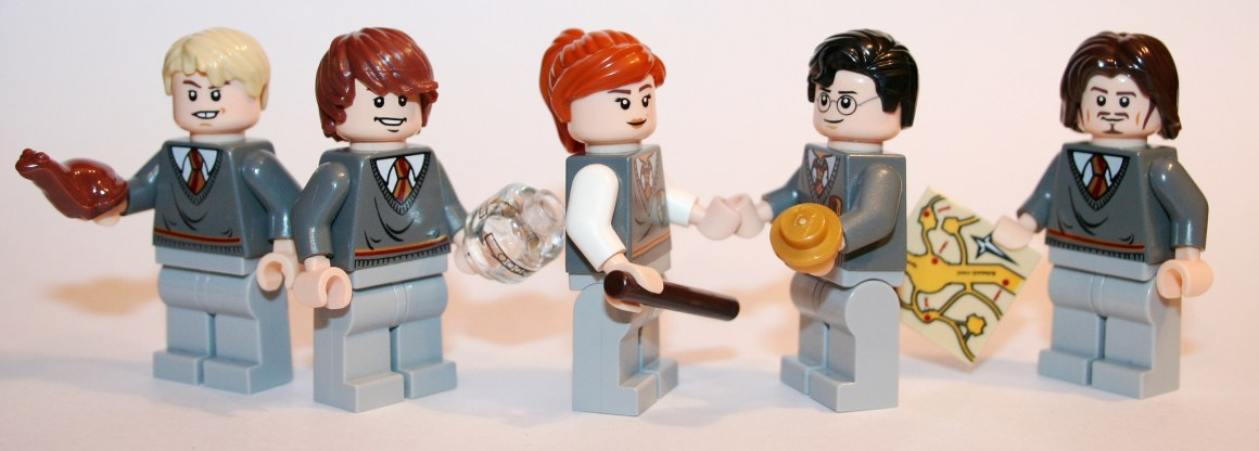 Two of the eight Harry Potter films were co-produced by J.K. Rowling, and she didn't have a problem then with all characters being white. Credit: spielbrick/Flickr, CC BY 2.0