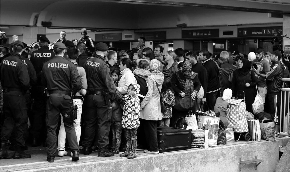 Syrian refugees in Vienna, Austria. Credit: Josh Zakary/Flickr CC BY-NC 2.0