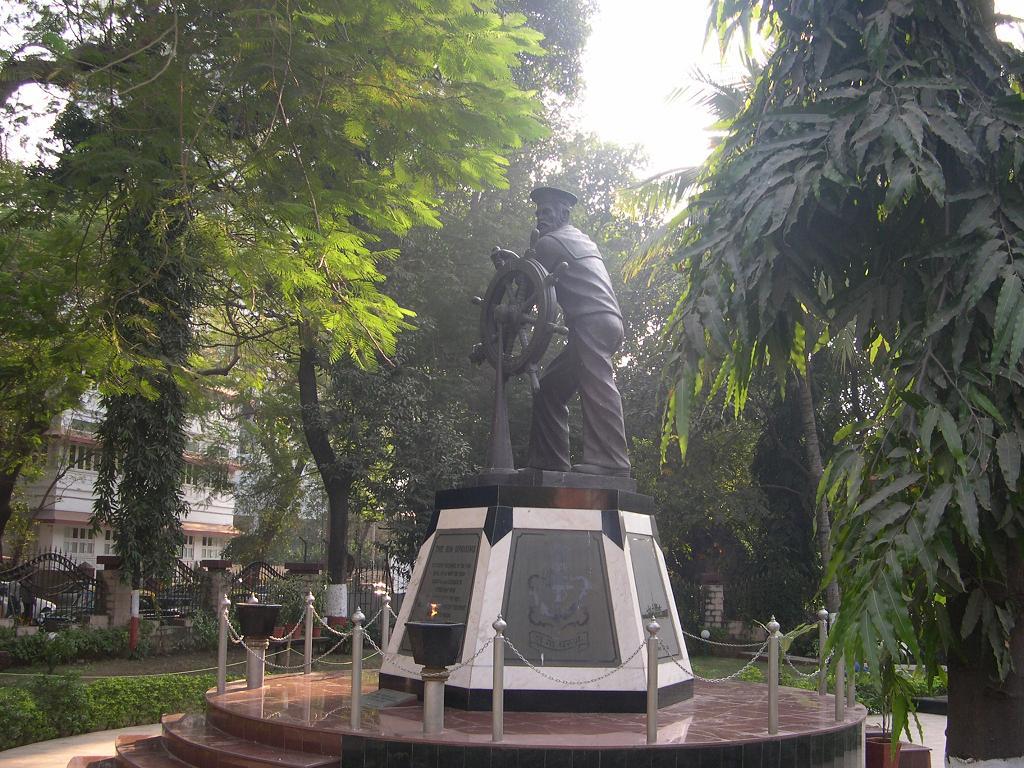 Naval uprising statue in Mumbai. Credit: Wikimedia Commons