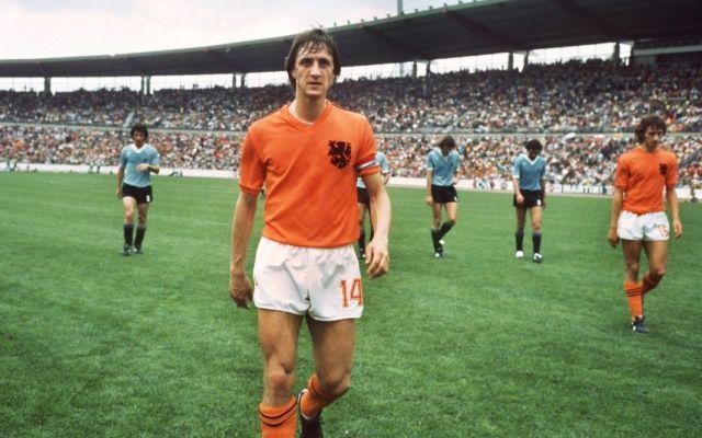 Legendary Dutch footballer Johan Cruyff, 1947-2016. Credit: nazionalecalcio/Flickr, CC BY 2.0