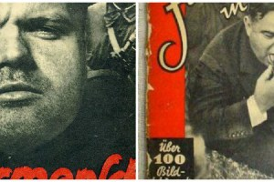 AP photos used in Nazi propaganda material. Credit: iCollector/University of Minnesota