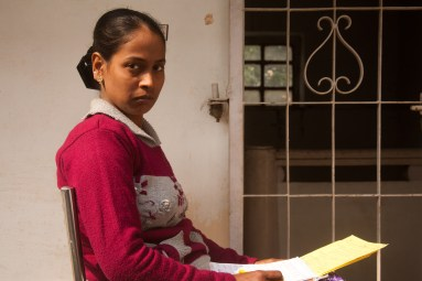 Lalita was beaten so badly on her first day in her husband's home that they had to call a doctor. She was 18 years old. Credit: Pallavi Gaur