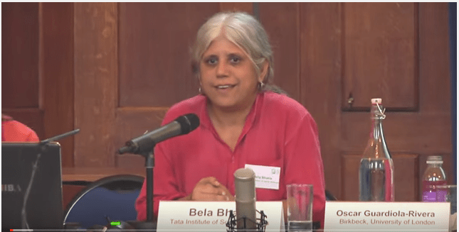 File photo of researcher Bela Bhatia. Credit: Youtube